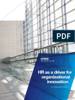 Hr Driver Organizational Innovation