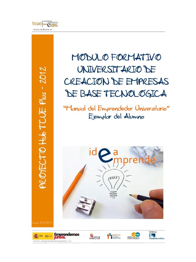 Manual Emprendedor Universitario
