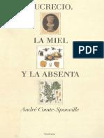 André Comte-Sponville, Lucrecio. La Miel y La Absenta