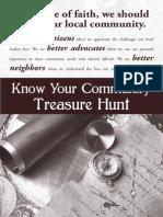 Texas Impact Know Your Community Treasure Hunt 2014