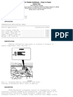 Auto Trans Overhaul (F3A21 & F3A22)