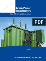 Green Power Transformers Brochure GB