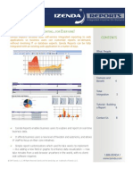Izenda Reports - Product Brochure