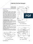 Diaphragm Design of Metal Clad Post Framed Buildings