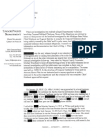 Calabrese Internal Affairs Report