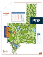 Encompass Championship map of North Shore Country Club