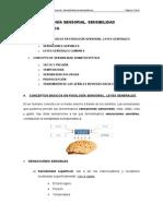 Tema v. Fisiología Sensorial. Sensibilidad Somatoestésica