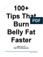 100 Tips That Burn Fat Faster 74815