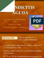 APENDICITIS AGUDA EXPOSICION
