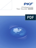 Philippines Tax Guide 2009