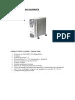 Calefactor Electrico de Ambiente