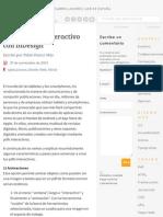 Creando PDF interactivo con InDesign | ADWE