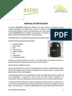Manual de Instalacion - Biodigestor