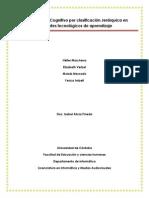 Modelamiento Cognitivo Por Clasificación Jerárquica en Ambientes Tecnológicos de Aprendizaje