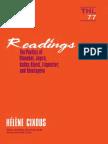 Readings Poetics