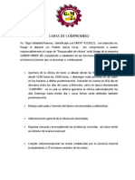 Carta de Compromiso (Autoguardado)