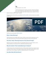 Global Warming Paper