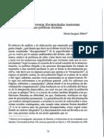 Discapacidad y Politicas Sociales,Pag.83,Sordos