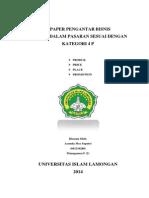 Paper Pengantar Bisnis Yunda