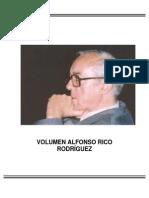 Volumen Alfonso Rico