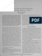 A Rapid, Semi Automated Method for Determining.12