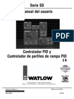 Manual Controlador Watlow Sd