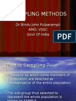 sampling method