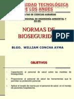 Normas de Bioseguridad Utea 2014