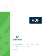 VEC Green Jobs Report 2014 - Vancouver