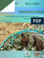 Investigacion 01- Caracterización Climática en Cusco y Apurímac