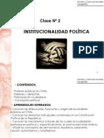 Clase 2 Institucionalidad Politica