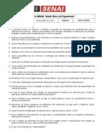 Folha de Exercício I - Alumínio Puro AlSi - Novo