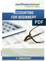Accounting for Beginners by Shlomo Simanovsky