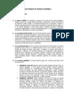 641-Teoría Económica I- Resumen