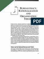 Bureaucracy Rationalization