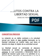 Delitos Contra La Libertad Sexual Ppt