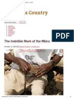 The Indelible Mark of the Mbira – Africa is a Country