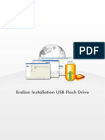 Endian Installation USB Flash Drive En