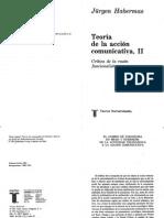 49103238 Jurgen Habermas Teoria de La Accion Comunicativa II