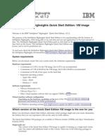 Iibi2120 QuickStart VM Readme