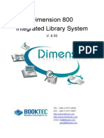 Dimension 800 Integrated Library System