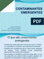 CONTAMINANTES EMERGENTES (1)
