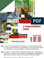 Empresas Multinacionales y Responsabilidad Social
