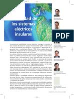 Estabilidad de Los Sistemas Electricos Insulares