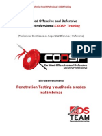 CODSP Training Pentesting Inalambricas