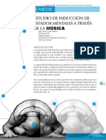 9 Induccion de Estados Mentales a Traves de Musica