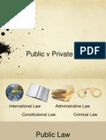public v private law