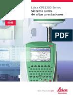 LEICA Gps1200 Brochure Es