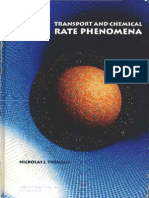 Transport and Chemical Rate Phenomena