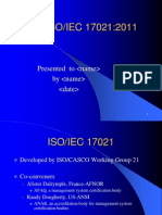 Iso Iec 17021 2011 Overview
